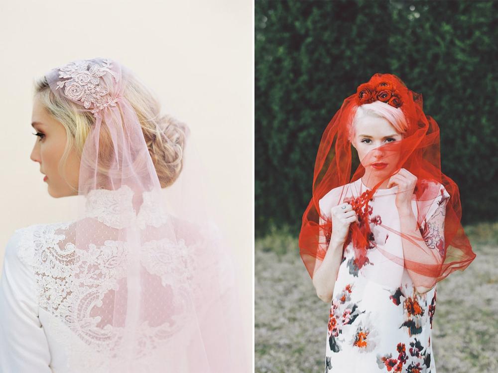 Velo:  Veiled Beauty  / Foto:  Lara Hotz