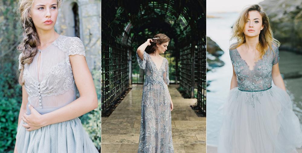 Fotos:  D'Arcy Benincosa , Laura Gordon y  Aleksandra Semyonova ./ Vestidos:  María Luisa Rabell ,  Gossamer  y  Arkanova Bouton .