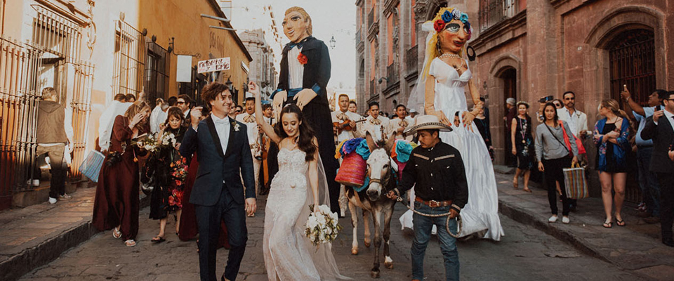 Top 10 wonderful places to get married in Mexico.