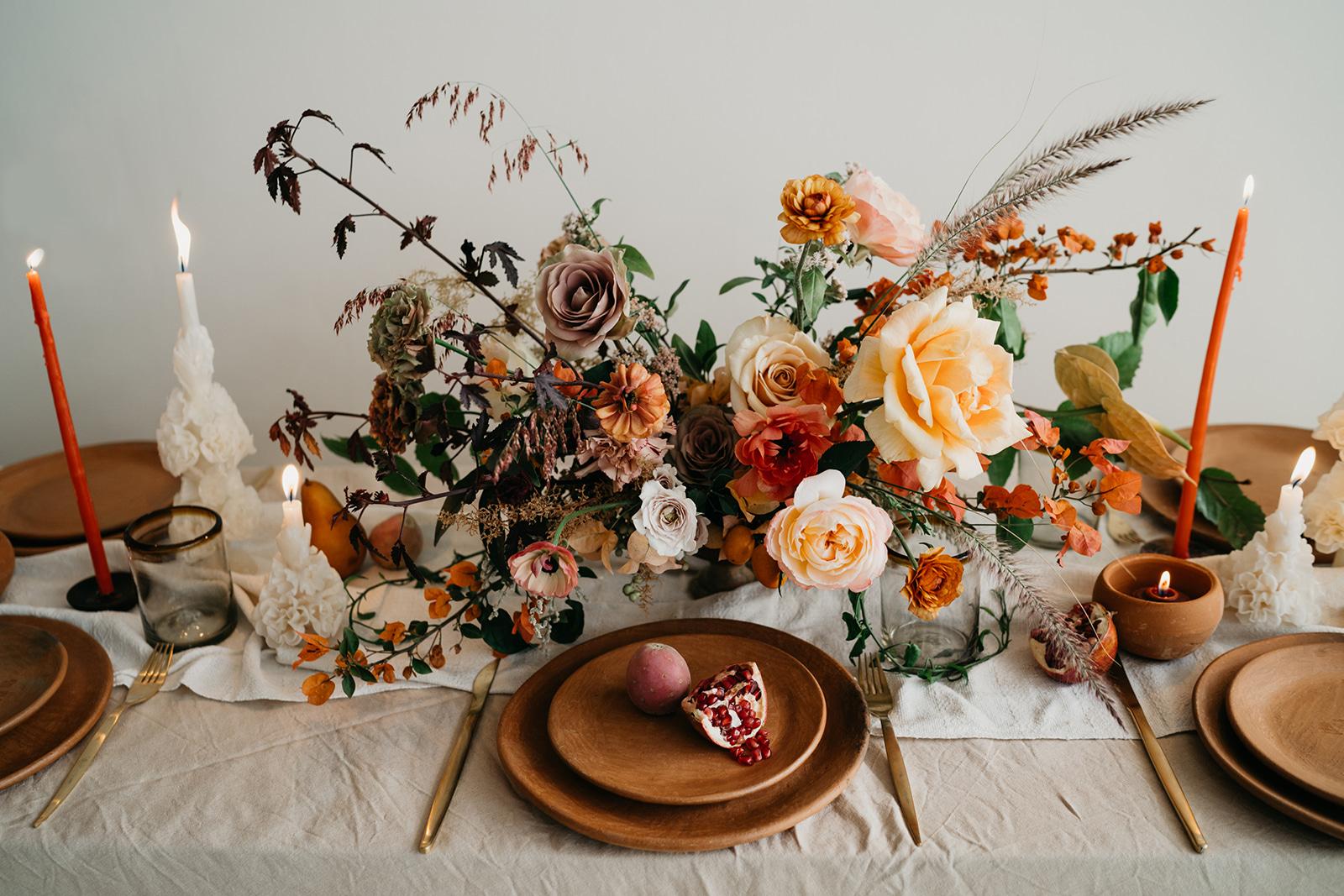 Foto:  The Times We Have . Diseño Floral:  Floweriize  y  Hunt & Gather Floral .