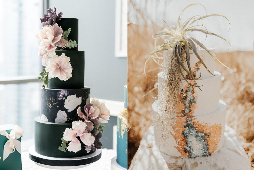 Fotos:  Stewart Uy   Photography  y  Alex Mari Photography  / Pasteles:  Vanilla Bake Shop  y  Alex Mari