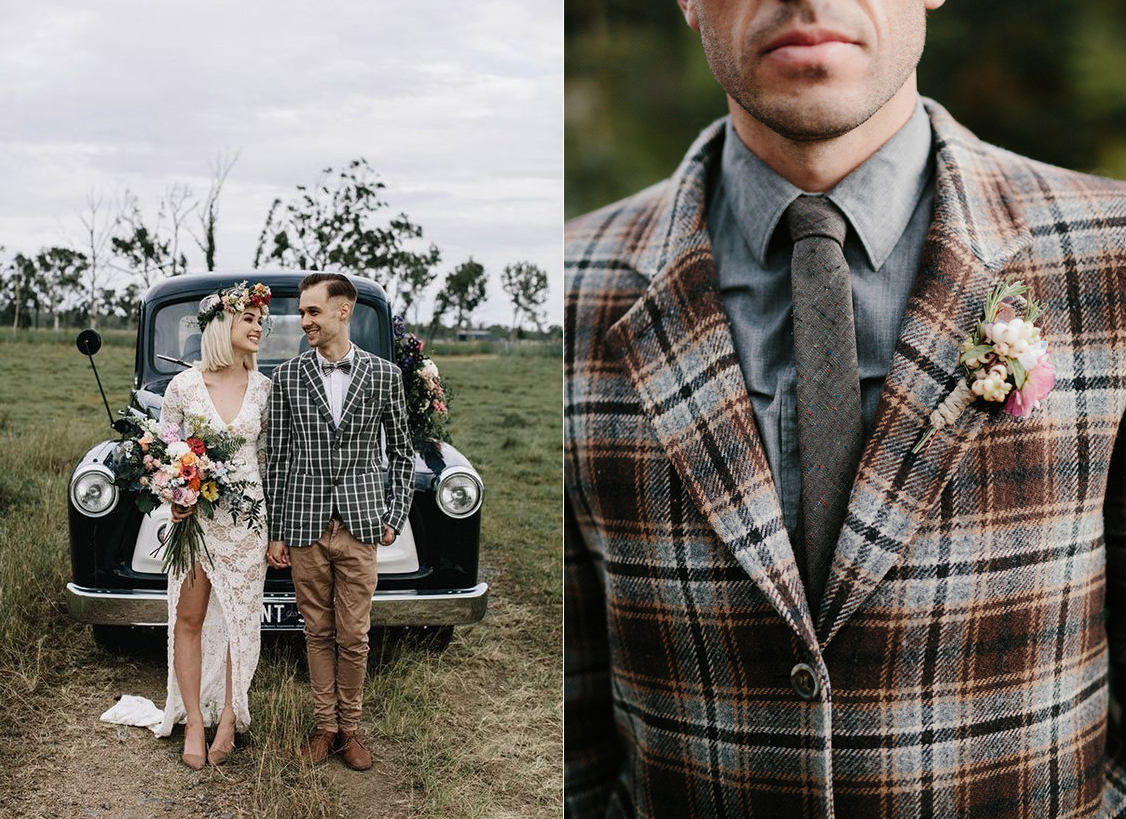 Fotos:  White Ash Photography  y  Brad and Jen