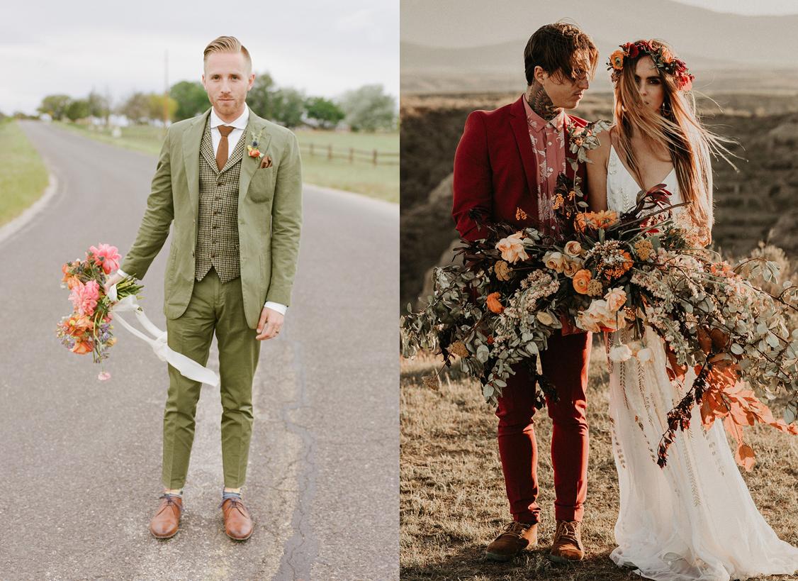 Foto:  Miesh Photography  Look:  Suit Supply  / Foto:  Joy Zamora  Look:  ASOS
