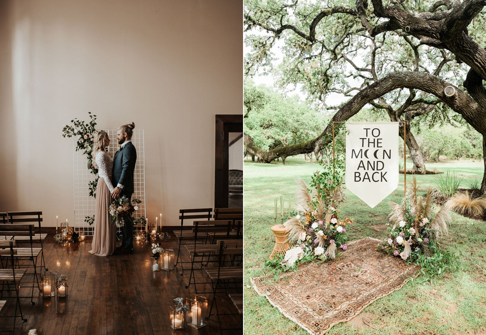 Foto:  Kimberly Schuldt Photography  Styling:  Pretty Little Vintage Co.  / Foto:  Wondery Photography  Organización:  xo moreau weddings & events