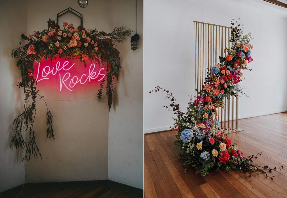 Foto:  Tanya Voltchanskaya  / Foto:  Peggy Saas  Diseño floral:  Signature Floral Design