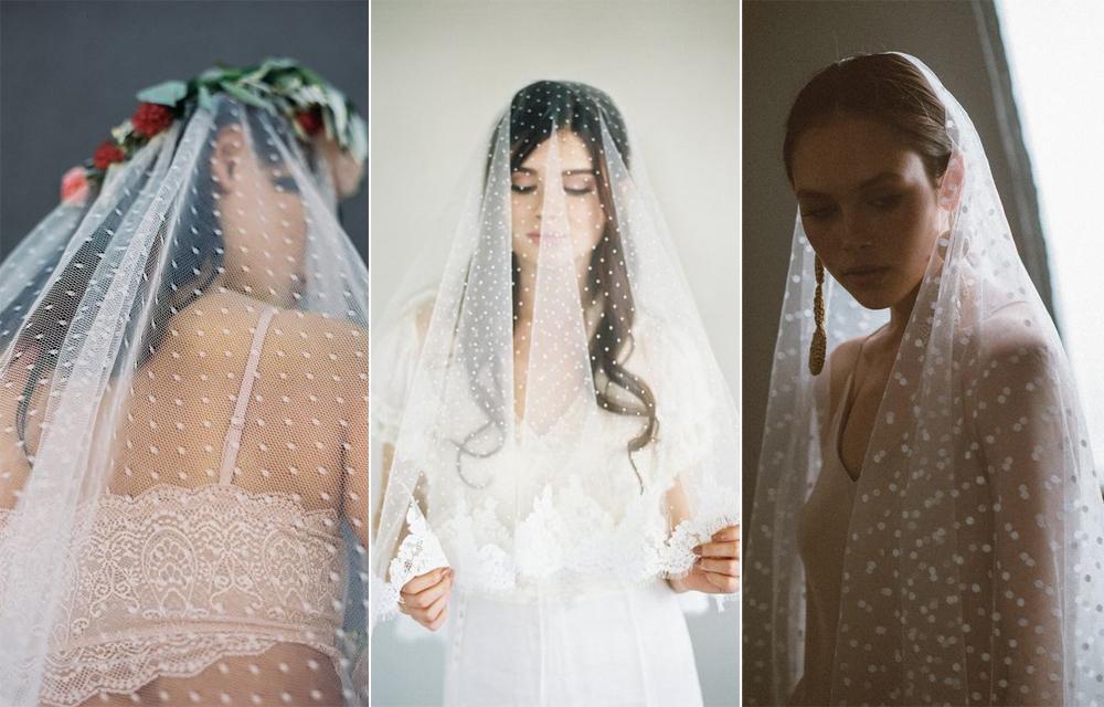 Velo:  Danani Bridal  / Velo:  Veiled Beauty  / Velo:  Lola Varma