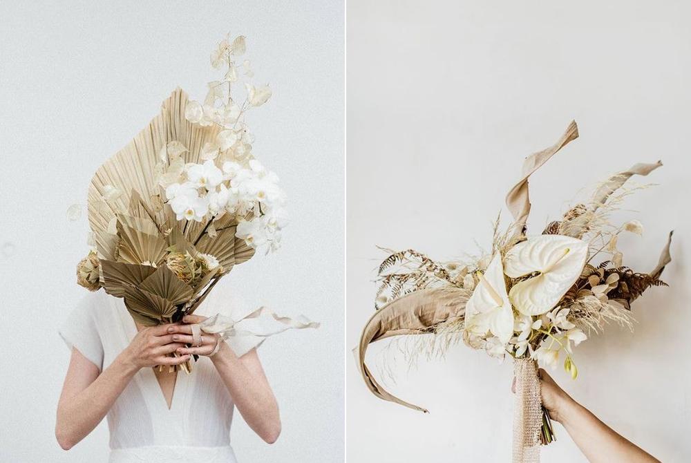 Foto:  Elodie Winter  Ramo:  Capucine Atelier Floral  / Foto:  Sébastien Boudot  Ramo:  D'amour et de Déco