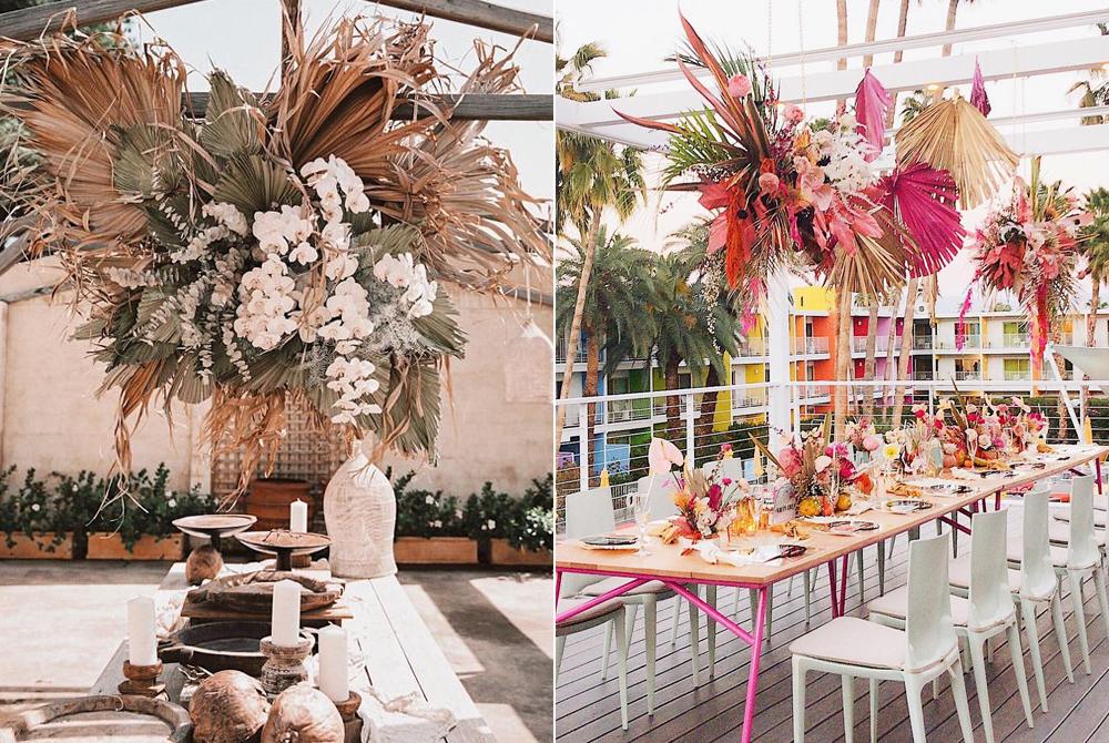 Foto:  Courtney Illfield  Styling:  Hayley Cravigan  / Foto:  Lauren Alexandra  Instalación:  Foxtail Florals