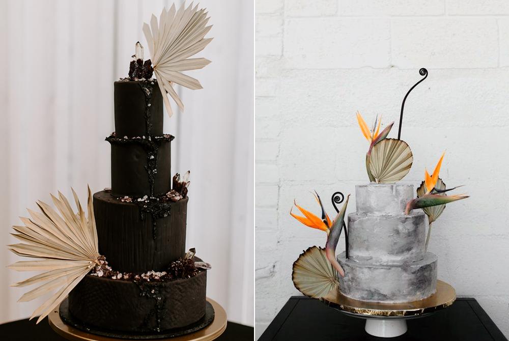 Foto:  The Johnsons Photo  Pastel:  Sweet Devotion Cakery  / Foto:  Matthew Levi Applegate  Diseño floral:  Best Day Ever