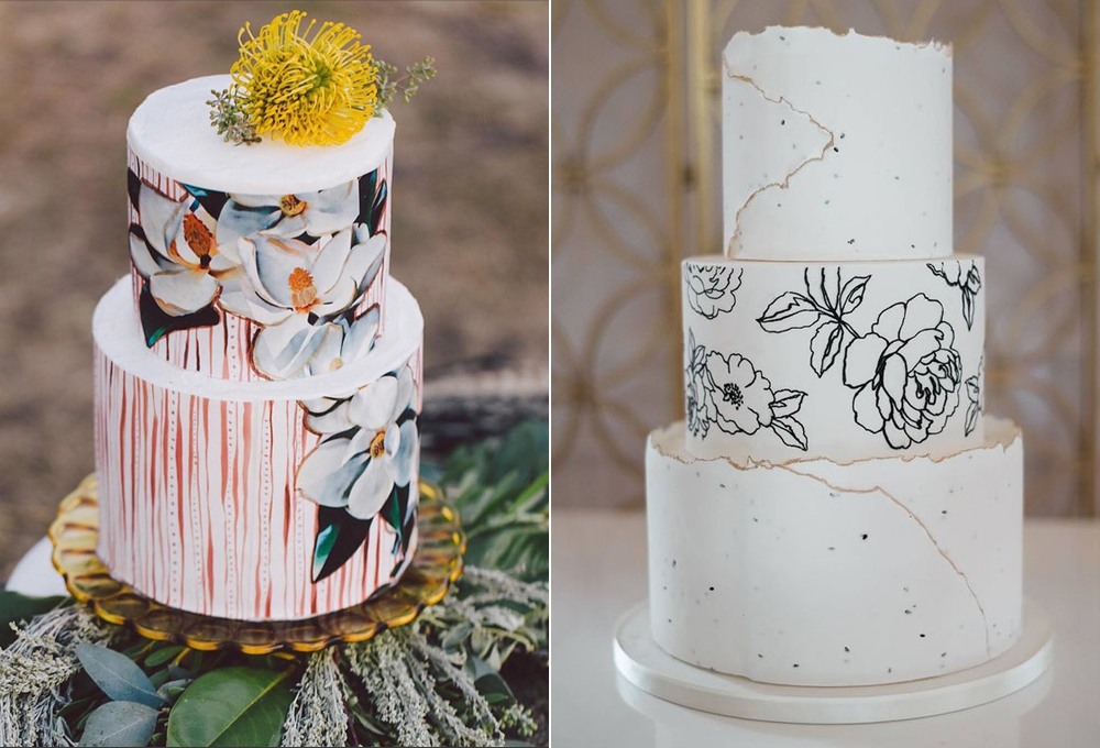 Pasteles:  Jasmine Lilly Creative  y  Iced Cakes & Confections