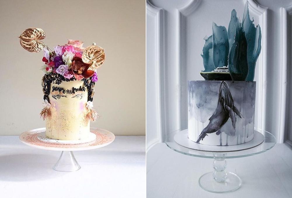 Pasteles:  La Ombre Creations  y  Elena Gnut