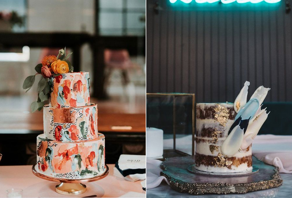 Pasteles:  Violet Jam  y  Mad about cakes