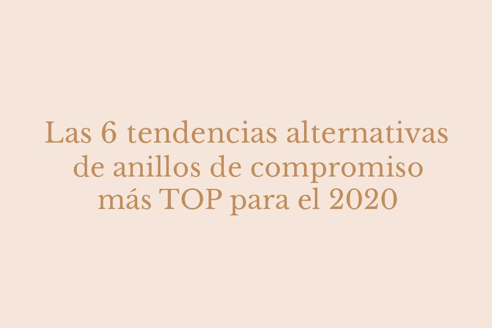 anillos de compromiso 2020