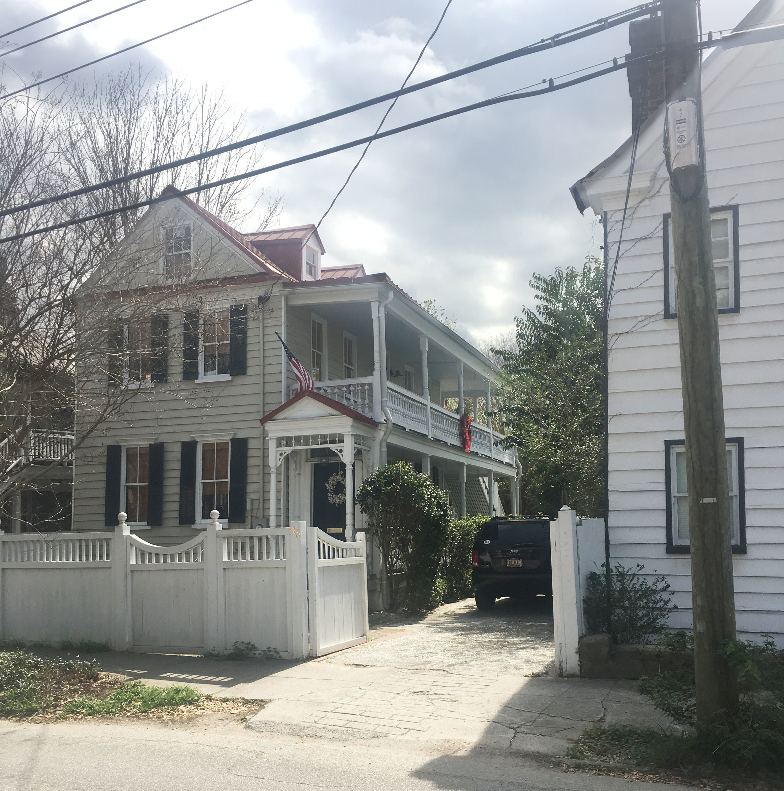 - April 17, 2017This Radcliffeborough house dates back to before 1888. We are currently working on a sensitive addition to this perfect example of the Charleston single home design.