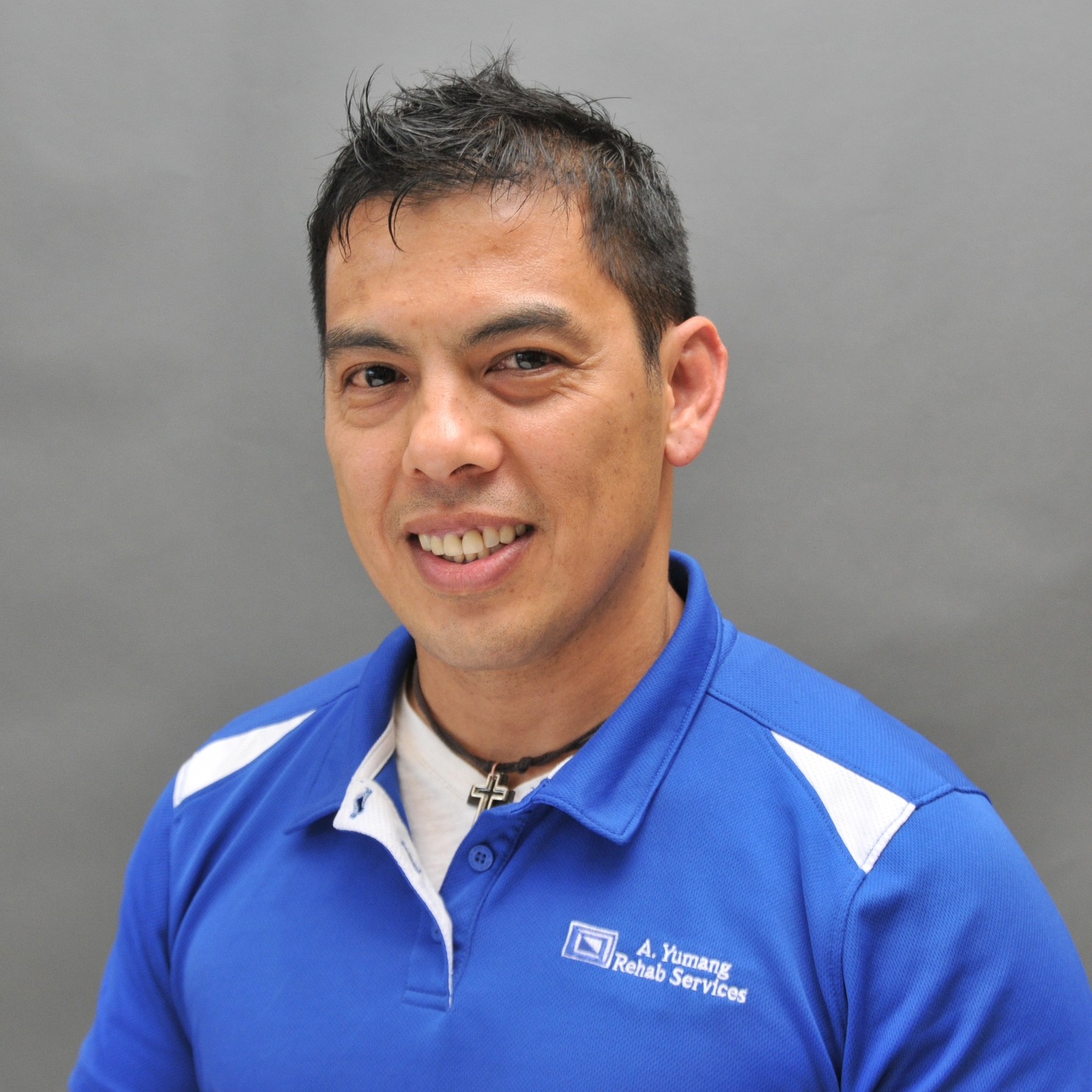 Ray Yumang  PT/LMT  Ray Yumang has been a physical therapist for twenty-five years and is also licensed in massage therapy. Trained in numerous approaches and techniques, he specializes in treatment for lymphedema, vestibular rehab, neurodevelopmental technique, Graston method, and the Maitland approach to name a few. An avid musician, health enthusiast, and sports fan, Ray likes to focus on treating the patient first and making them stronger.