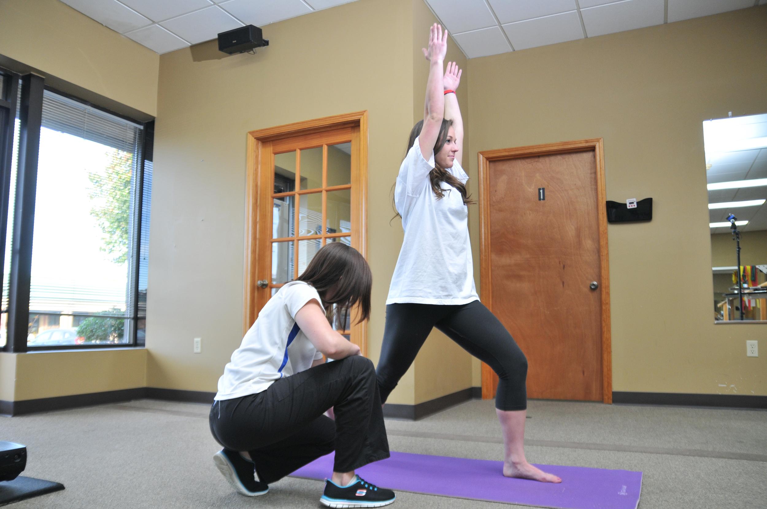 Yoga-Type Treatment