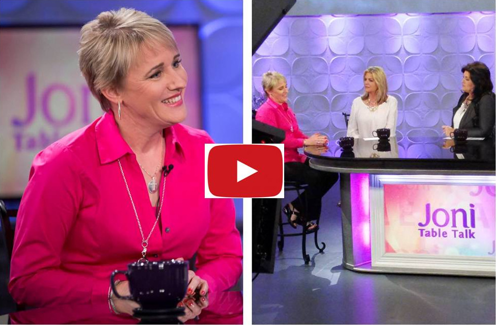 Christine on Table Talk with Joni Lamb.