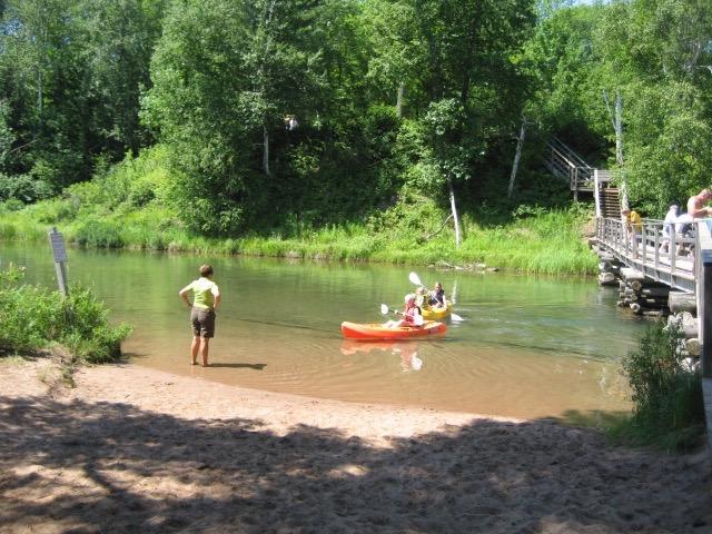 Kayaking the Lagoon