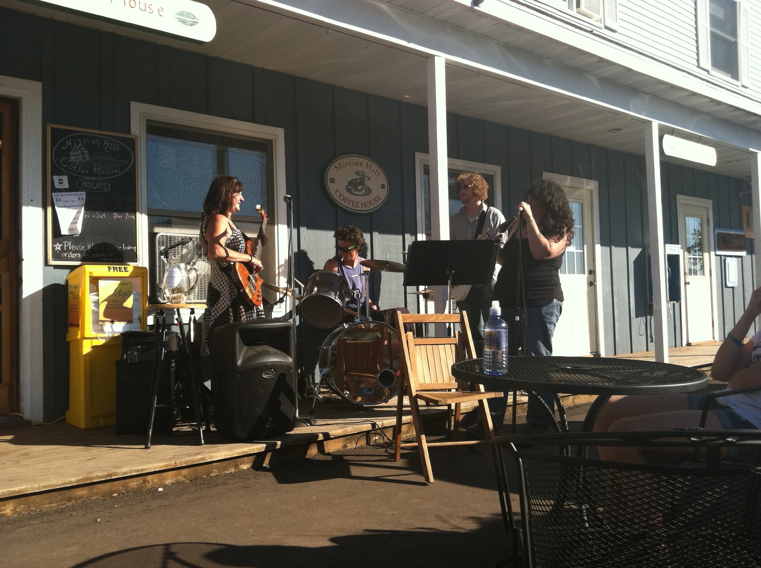 Music at Mission Hill Coffee