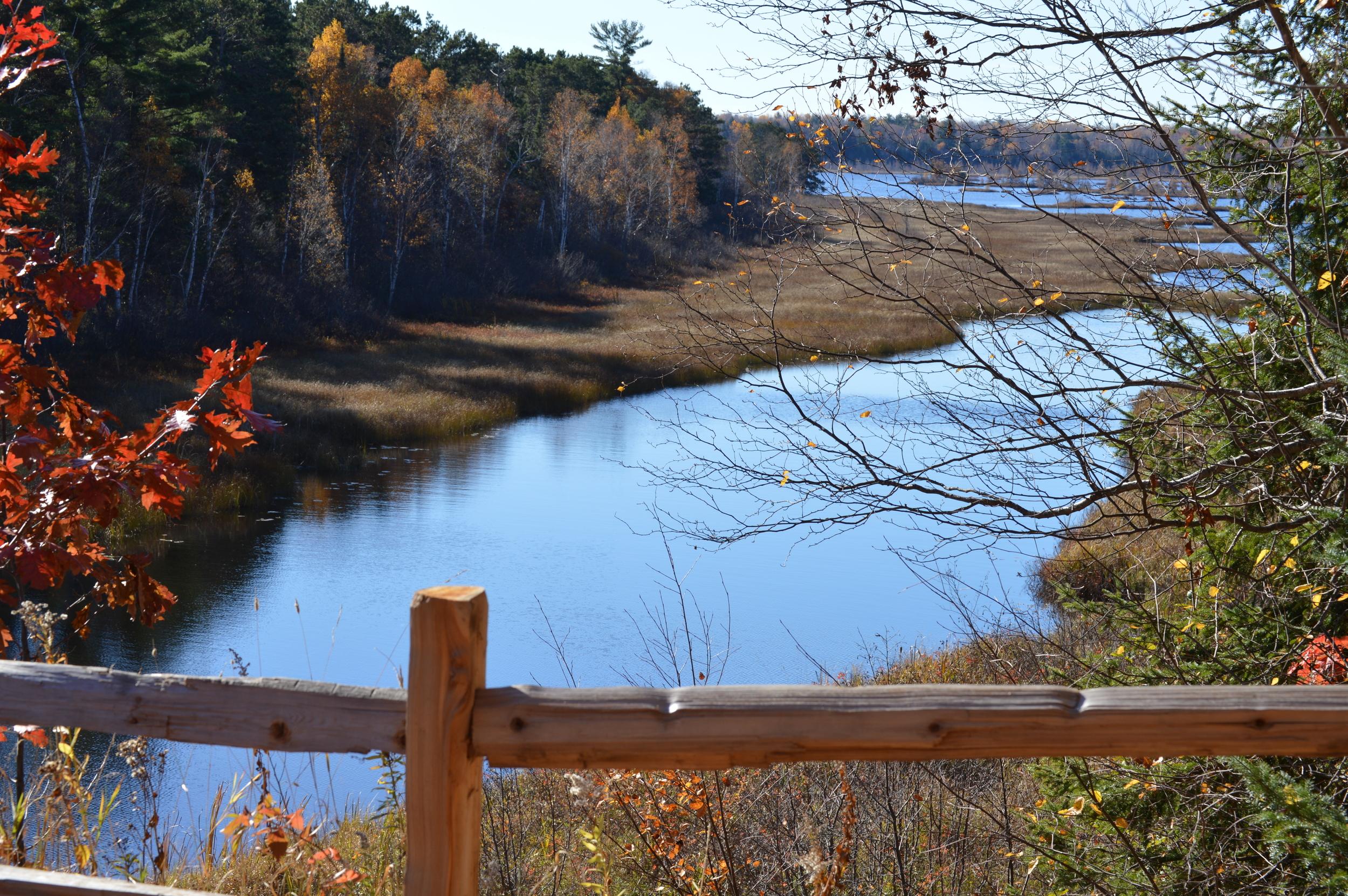 The Lagoon in Autumn
