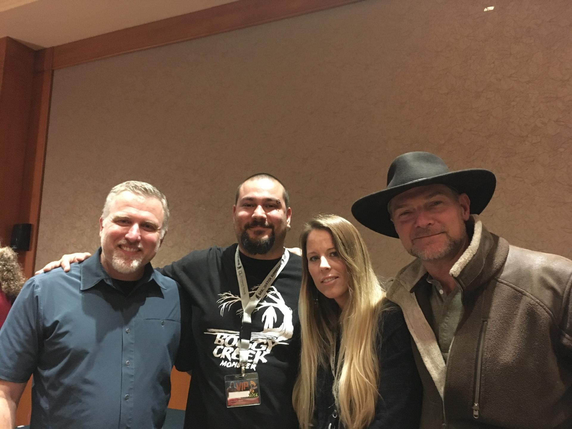 JESTIN AT THE BIGFOOT CONFERENCE