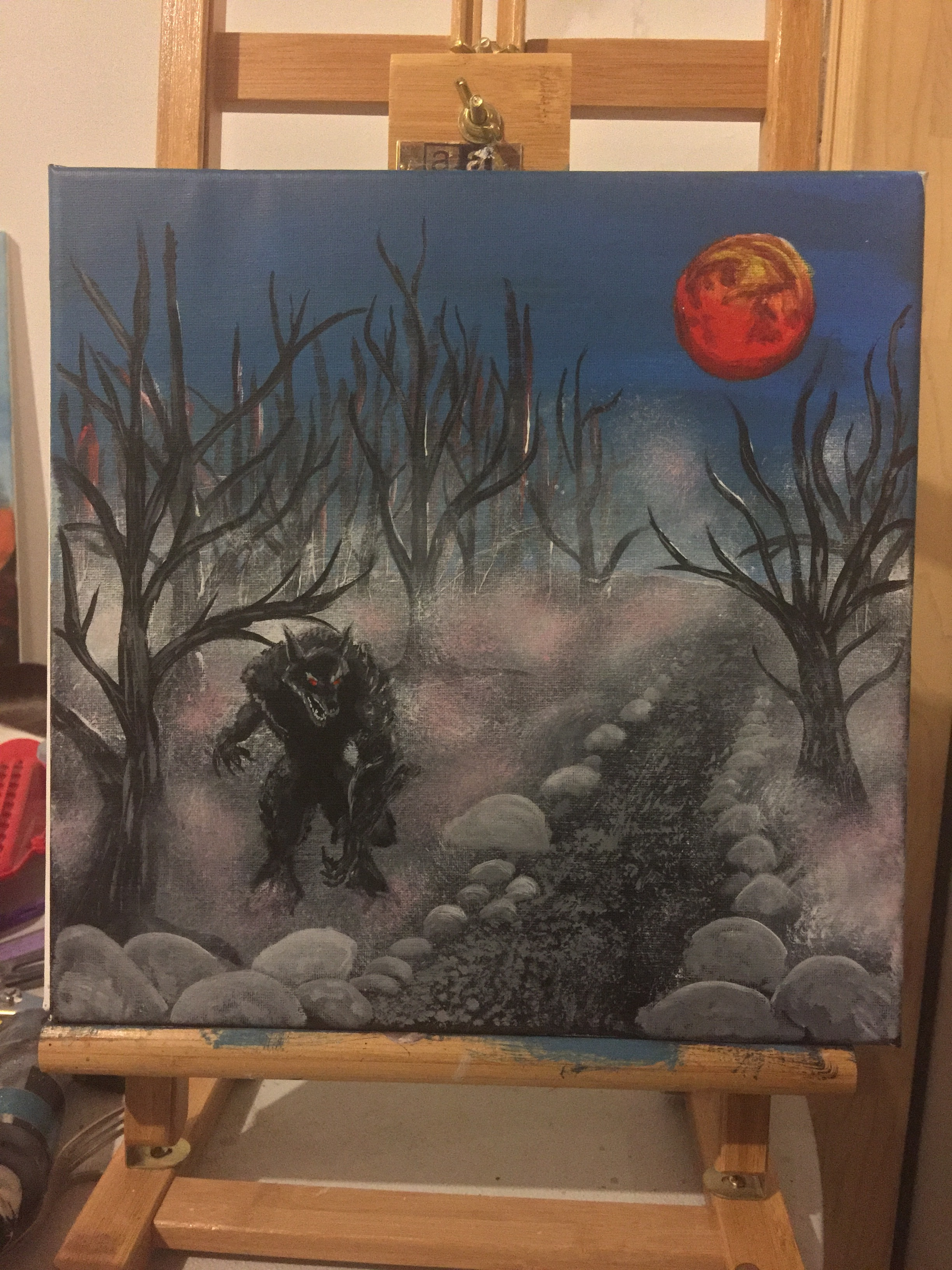 FAILED'S PAINTING HE DID WHILE ON A PODCAST