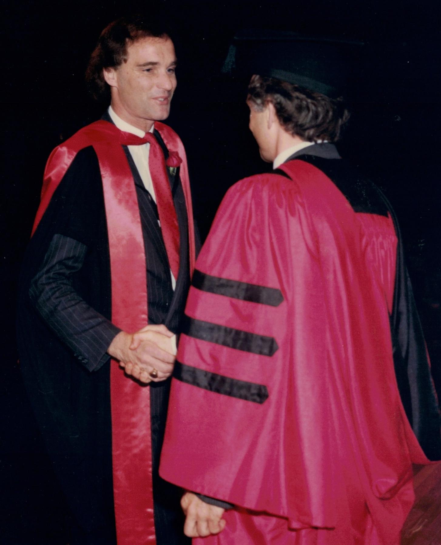 PhD graduate, 1987