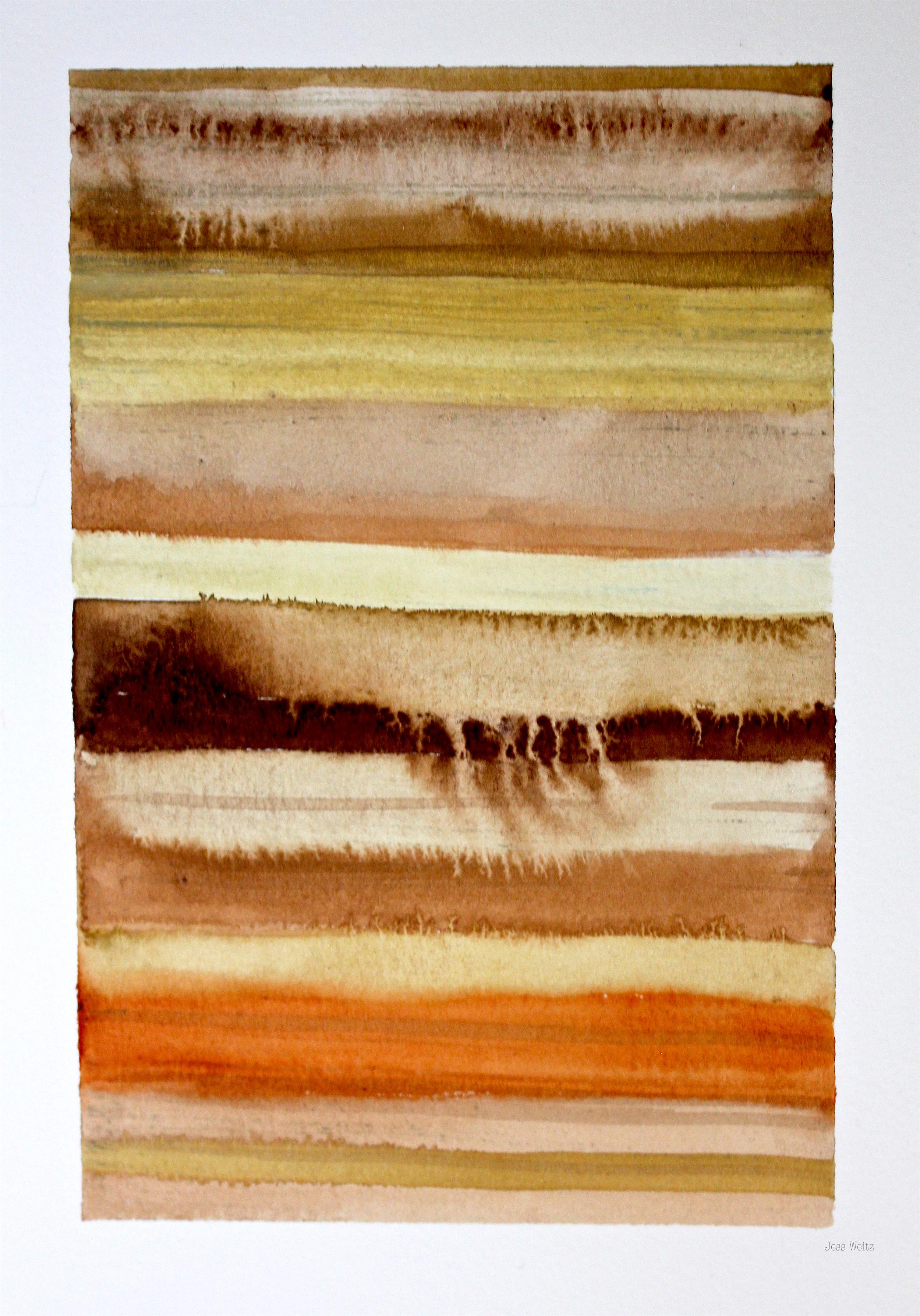 Strata |   G ouache on paper, 2015
