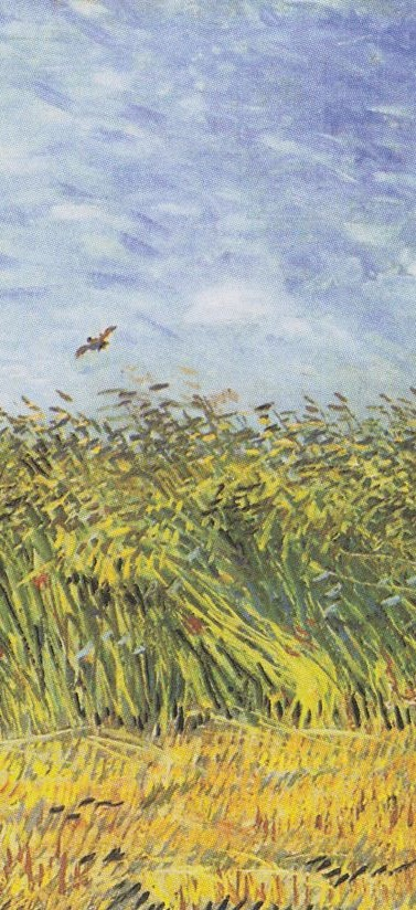 Wheat Field with a Lark , Vincent van Gogh