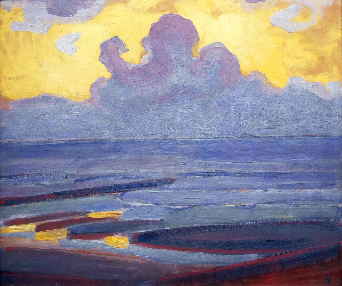 "PIET MONDRIAN, ""BY THE SEA"""