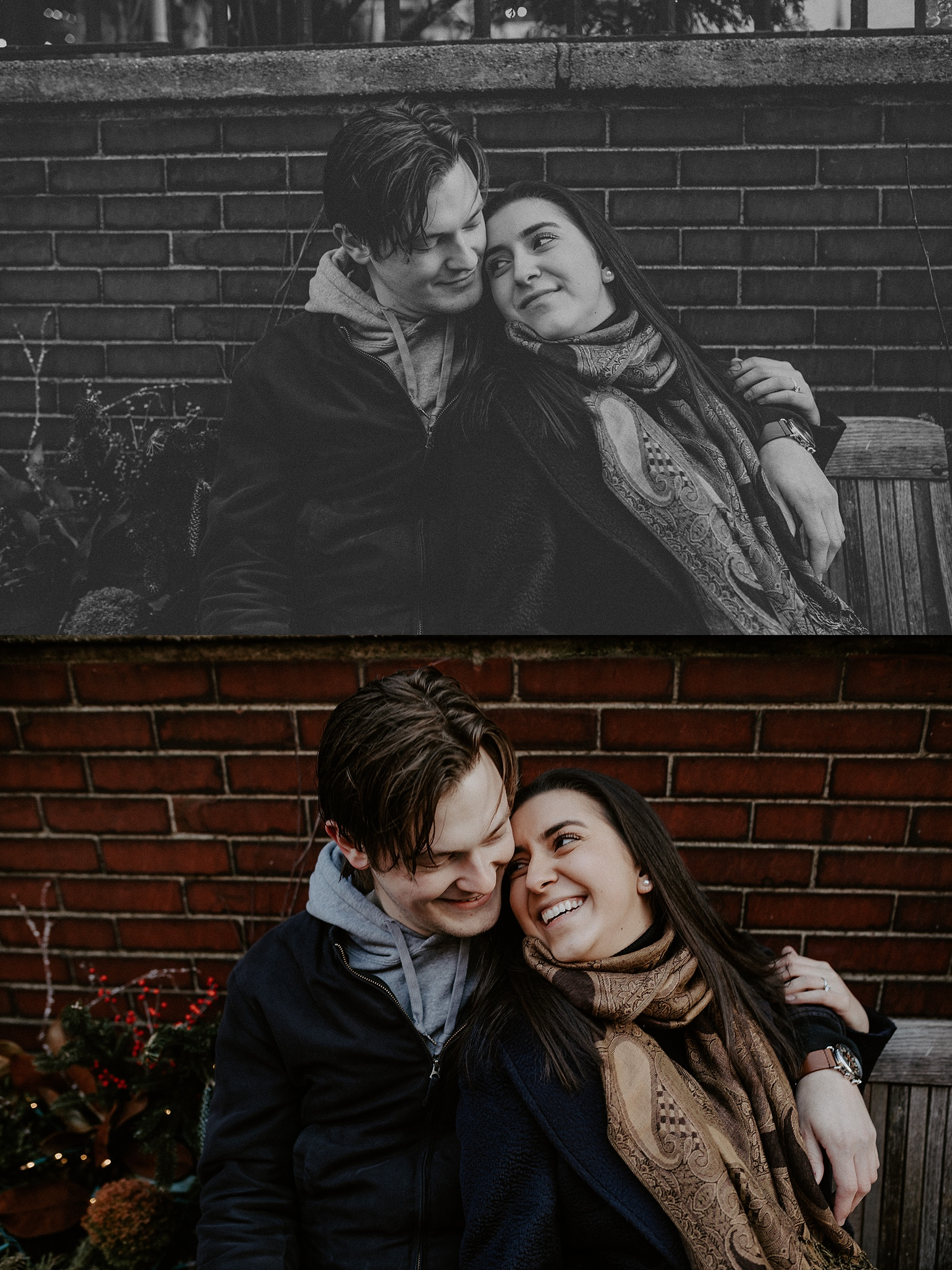Blustery and spontaneous and casual Greenwich Village and West Village Engagement Session in New York City_0023.jpg