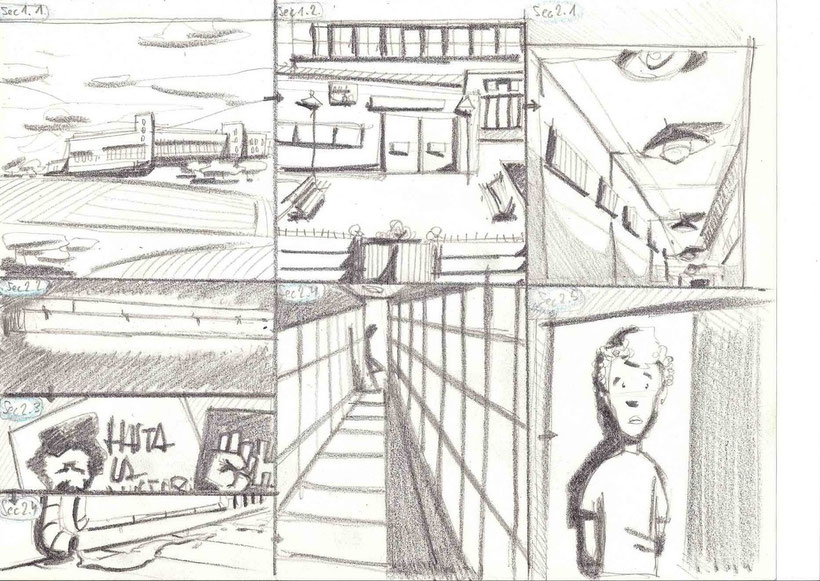 Storyboard by  Iñaki Tovar Picazo
