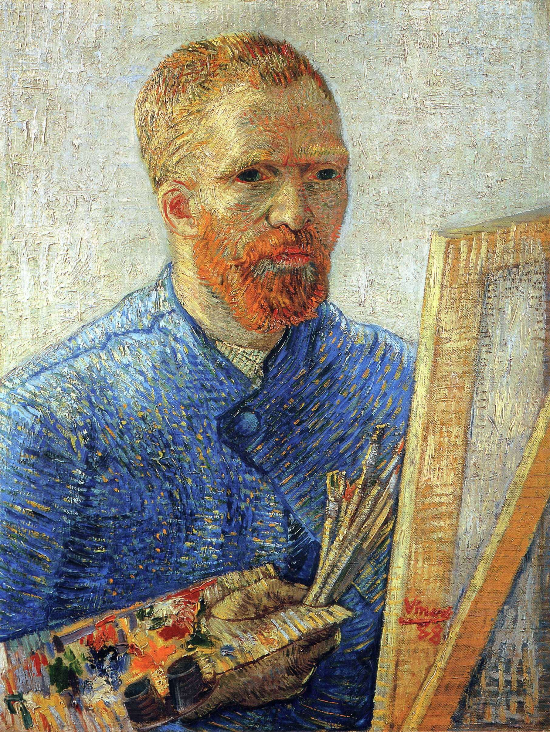 "Van Gogh's ""Self-Portrait as an Artist"""