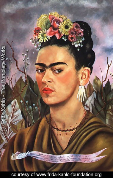 Frida Kahlo self-portrait, 1940