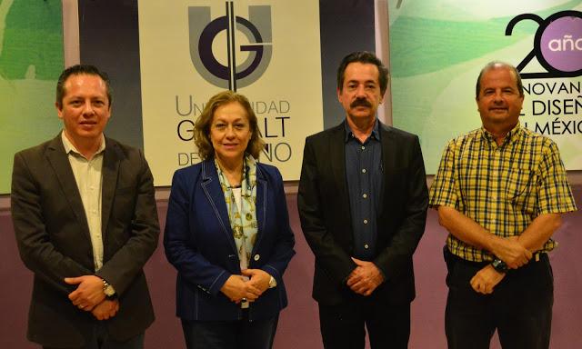 Arq. Carlos A. Cabañas Ramírez, Dra. Arq. Margarita Acosta Mota, Dr. Jorge Arturo Del Ángel Ramos y Mtro. Arq. Enrique Sánchez Pugliesse