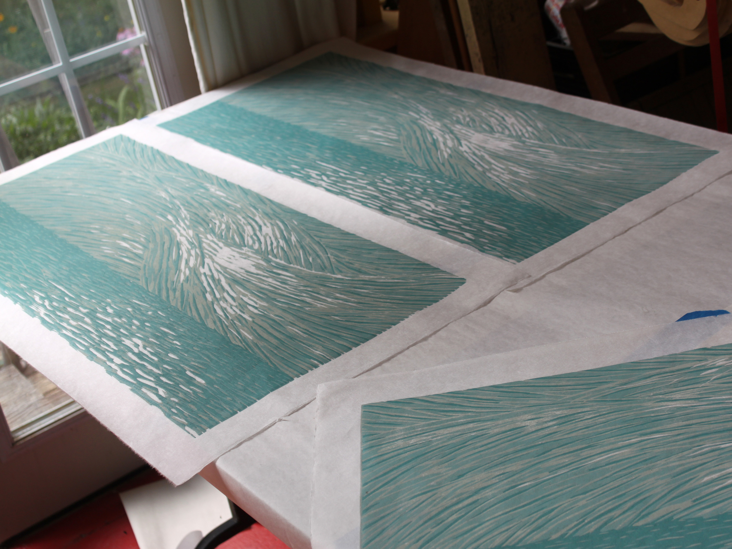 Printing the third color