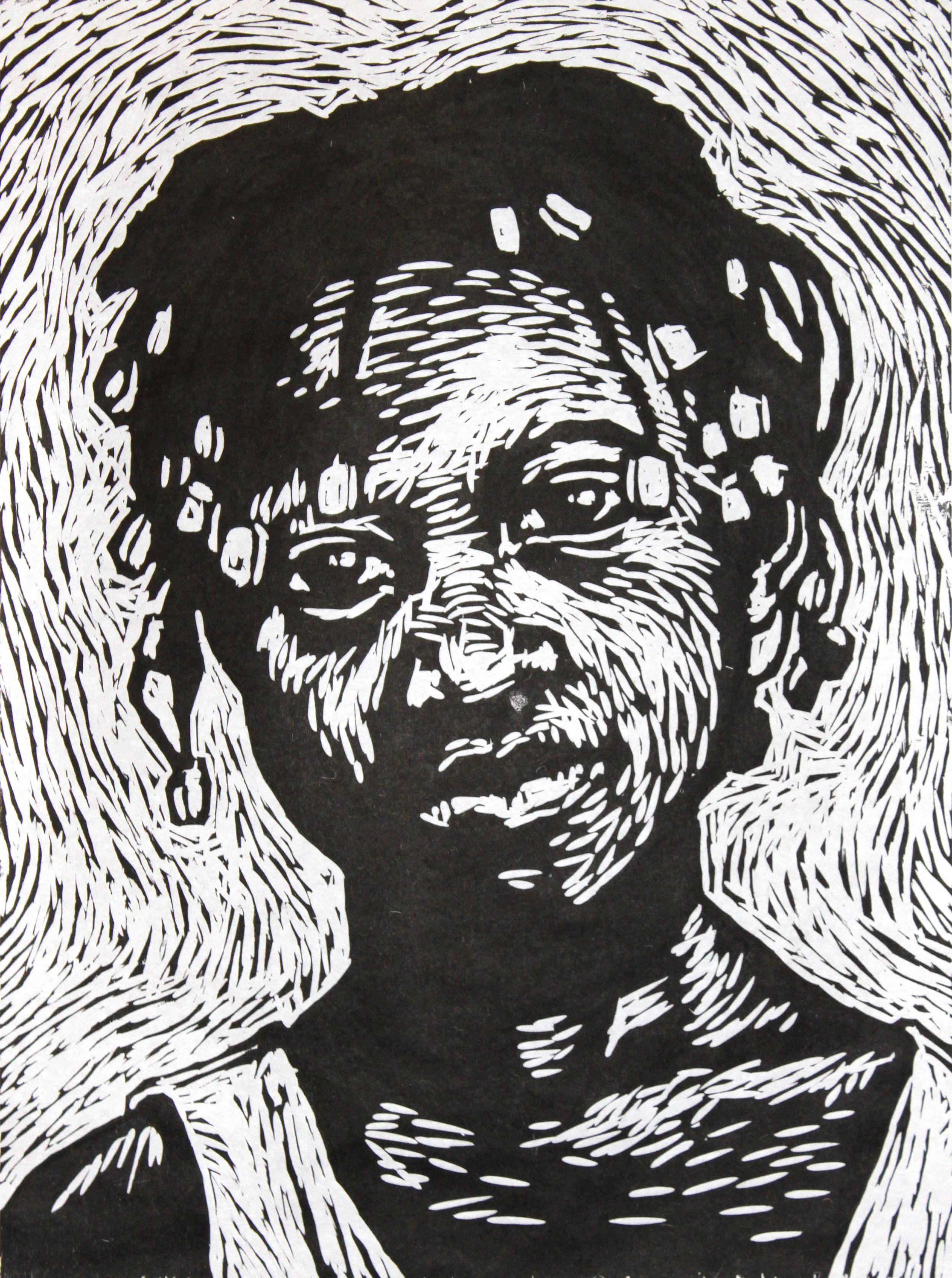 Finished print: Sabaline Estiven