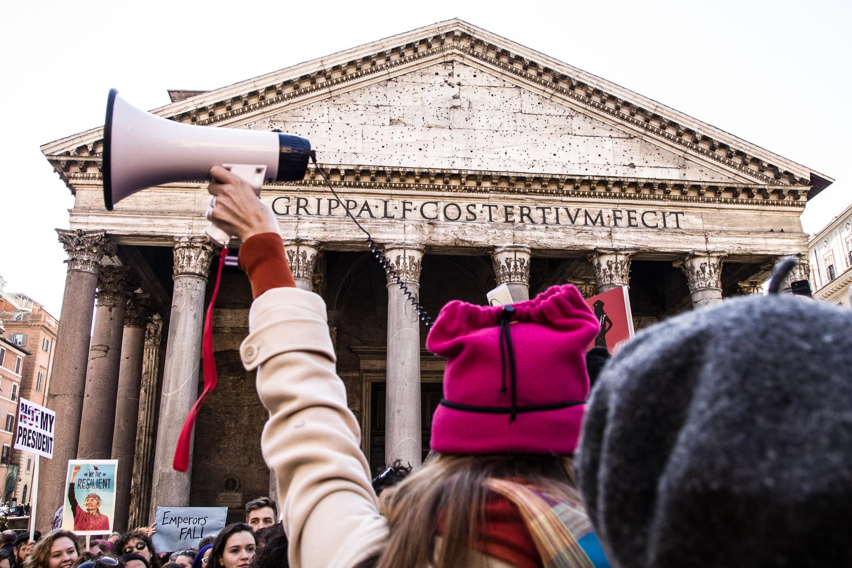 Women's March - Rome