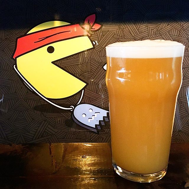 Chomp on This, is our brand spankin' new hazy pale ale. Tons of malted wheat makes this 6.2% beer have a chewy yet balanced mouthfeel. Throw in a killer hop combo of Mosaic, Sterling and Mandarina Bavaria and you'll get flavors of bright citrus, pineapple flesh, melon and a touch of bubble gum.