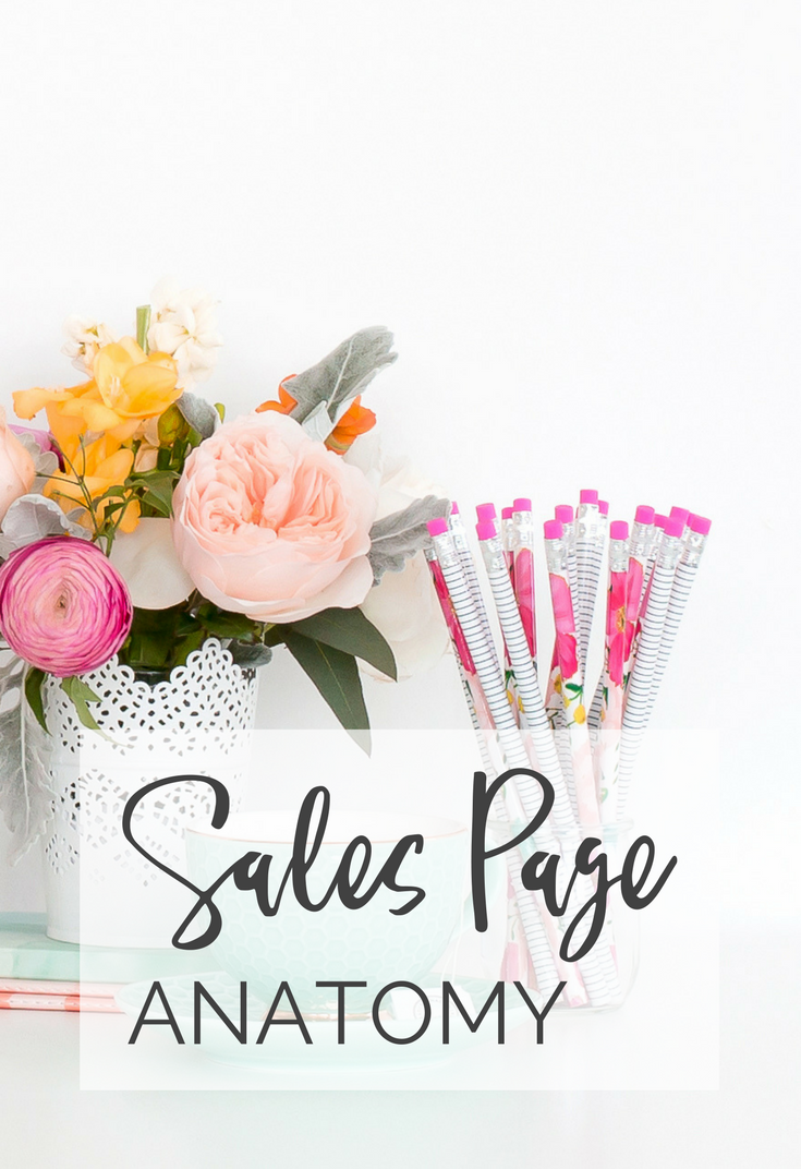 Sales Page Anatomy