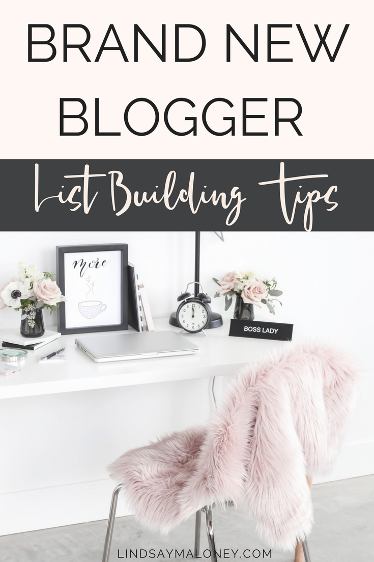 Brand New Blogger List Building Tips