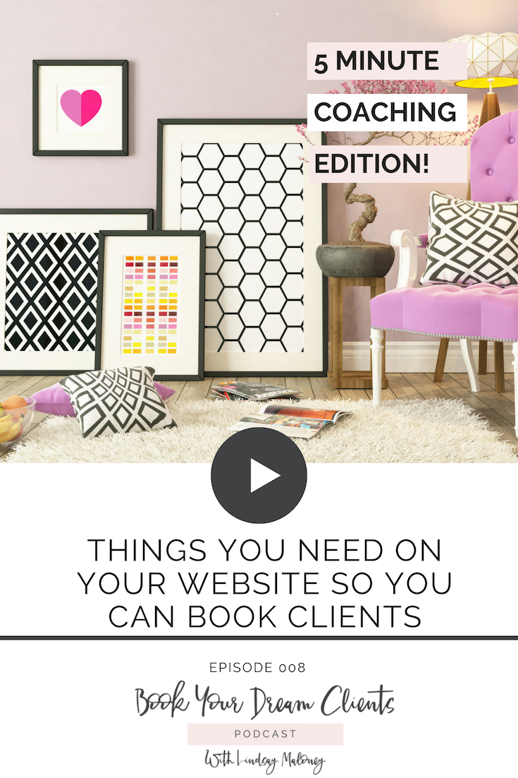 Things You Need On Your Website So You Can Book Clients