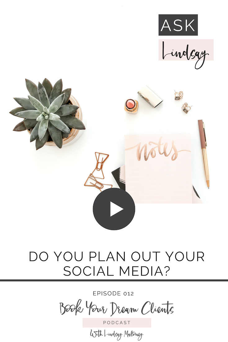 Do you Plan Out Your Social Media?