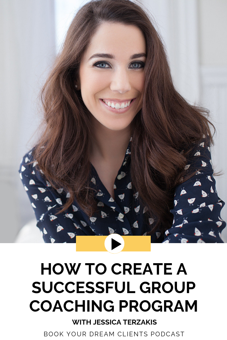 How to Create a Successful Group Coaching Program With Jessica Terzakis