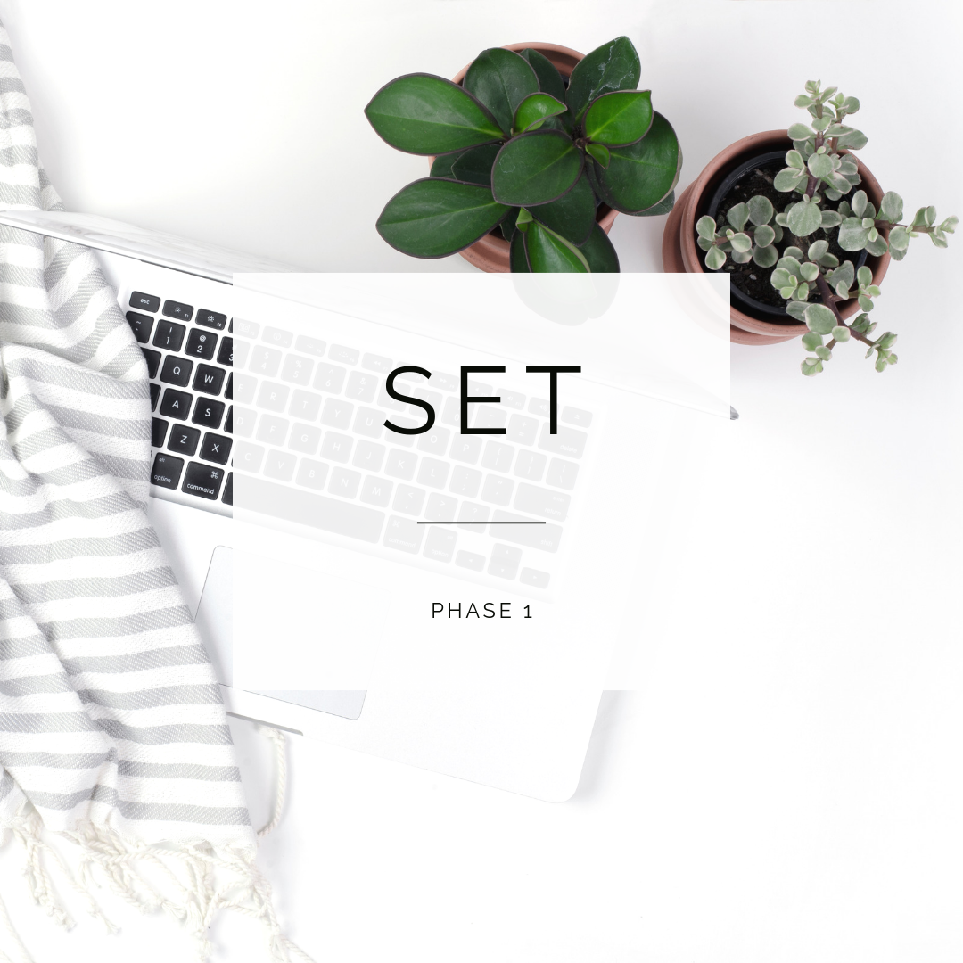 PHASE 1:Get Set Up to Attract Your Ideal Clients - * Recommend daily practices that will set you up for abundance* The SOCA Diary* Getting the support you need and deserve so you can run your business the way you want it* Removing money blocks that could be holding you and your business back* Getting into the right mindset so you can run a successful coaching business*so much more