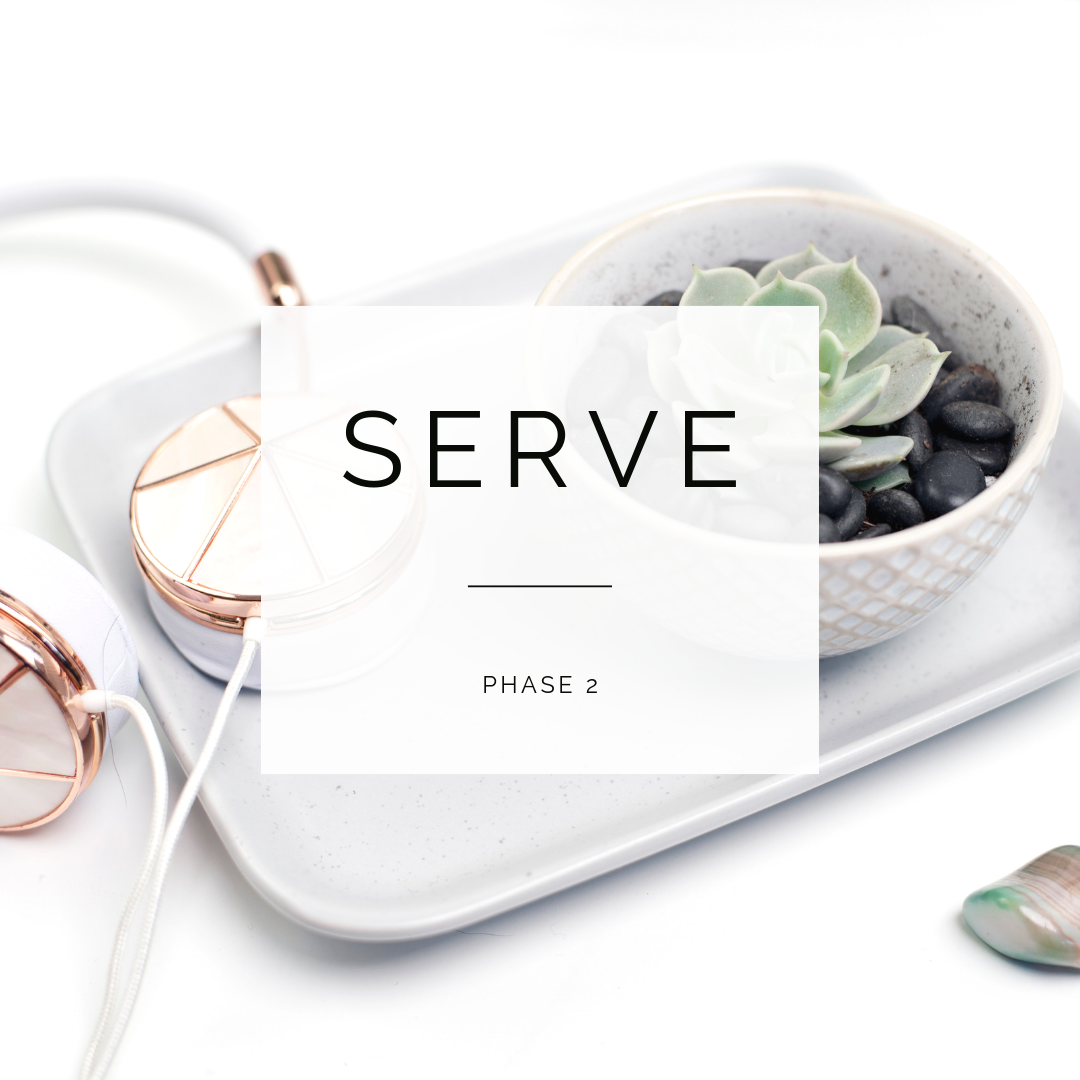 PHASE 2:Serve Your Clients at Your Highest Level - * Learn how to get clients on demand* Learning how to treat your business like a CEO * Set the vibes for amazing client/coach relationships* Knowing your dream client inside and out* Becoming a client magnet*so much more
