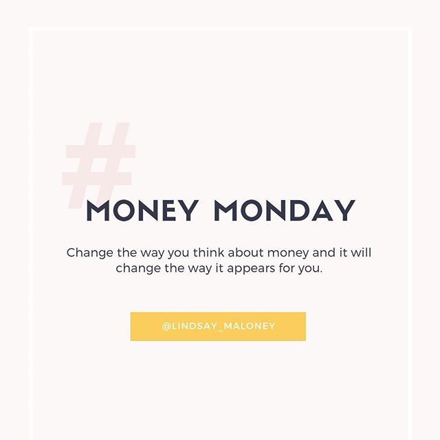 Love the money you spend and love the money that comes in! ⠀⠀ ⠀⠀ I especially do this on Mondays (I call it #MoneyMonday over here).⠀⠀ ⠀⠀ I know so many business owners that cringe at the idea of looking over their finances every month because it just gets so overwhelming and to be honest, it's not the most exciting thing in the world. #sidetrackedoninstagram ⠀⠀ ⠀⠀ If you dread your bookkeeping days, then try breaking the task up a bit. For example, if you save all of the work until the end of the month try splitting it up into a weekly task, heck, try my Money Monday theme! ⠀⠀ ⠀⠀ Also, showing gratitude and love for every penny spent and every penny earned will continue to bring more in. That's my promise to you.⠀⠀ ⠀⠀ Change the way you think about money and it will change the way it appears for you.⠀⠀