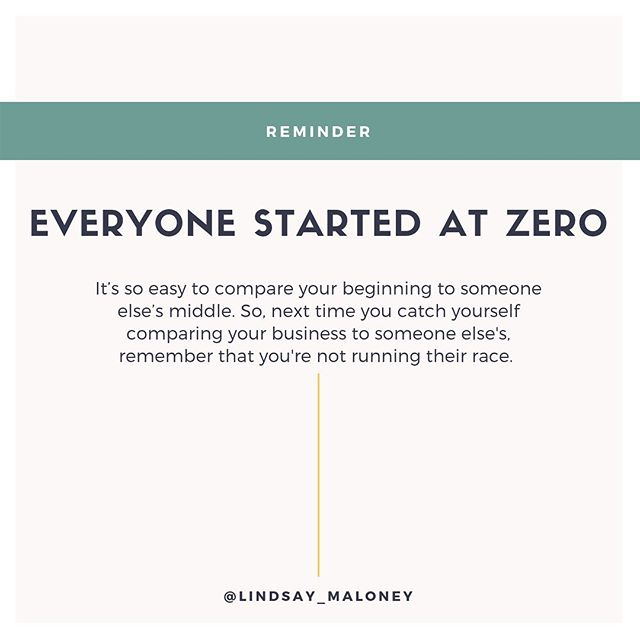 """Do you ever find yourself playing the comparison game?⠀⠀ ⠀⠀ Do you mindlessly scroll through Instagram secretly wishing you could be like that coach over there and wondering why your business doesn't look like hers over there because pretty sure you started this around the same time…⠀⠀ ⠀⠀ It's so easy to compare your beginning to someone else's middle right?⠀⠀ ⠀⠀ And it's so easy to knock yourself down a few pegs when you just look at what's in front of you. #tunnelvision⠀⠀ ⠀⠀ Everyone has a story. ⠀⠀ ⠀⠀ Everyone started at zero.⠀⠀ ⠀⠀ And every coach you ask will tell you, """"this did not happen overnight.""""⠀⠀ ⠀⠀ Comment below if you've played the comparison game?⠀⠀ ⠀⠀ ⠀⠀ .⠀⠀ .⠀⠀ .⠀⠀ .⠀⠀ .⠀⠀ .⠀⠀ .⠀⠀ .⠀⠀ #spiritualbosslady⠀⠀ #abundantbossbabes⠀⠀ #startupmindset⠀⠀ #positivemindset⠀⠀ #schoolofgreatness⠀⠀ #igniteyourfire⠀⠀ #millionairemindset⠀⠀ #lawofattraction⠀⠀ #wordsmatter⠀⠀ #lifesayings⠀⠀ #powerofnow⠀⠀ #thismoment⠀⠀ #raiseyourvibration⠀⠀ #livethelittlethings⠀⠀ #goalminded⠀⠀ #practicemindfulness⠀⠀ #intentionallife⠀⠀ #wholeheartedliving⠀⠀ #lessismore⠀⠀ #minfdulmoment⠀⠀ #mindfulnessmatters⠀⠀ #slowliving⠀⠀ #theartofslowliving⠀⠀ #embracingaslowerlife⠀⠀ #presentmoment⠀⠀ #bestillandknow⠀⠀ #alifeofintention⠀⠀ #liveinthenow"""