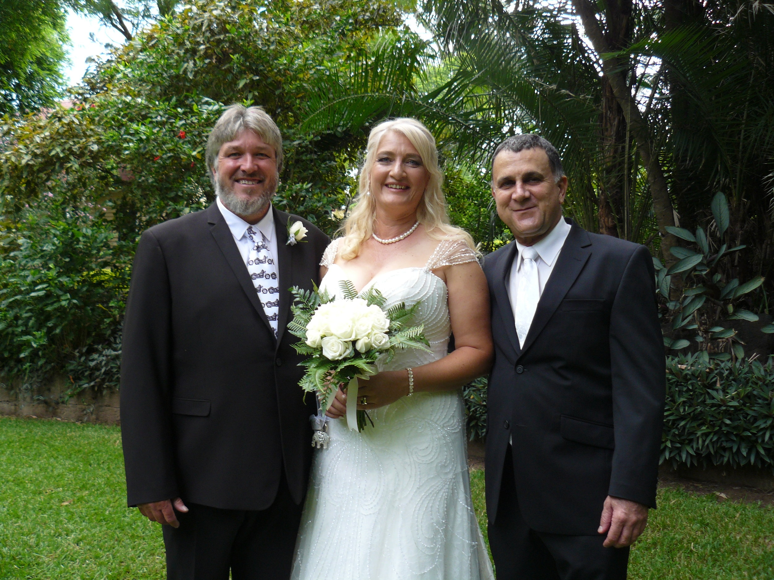 Hi Neal,  Thanks so much, and thank-you for the awesome ceremony we just loved it, was so much fun.  Kind Regards  Karen and Dave  Ceremony Held at Woodlands of Marburg