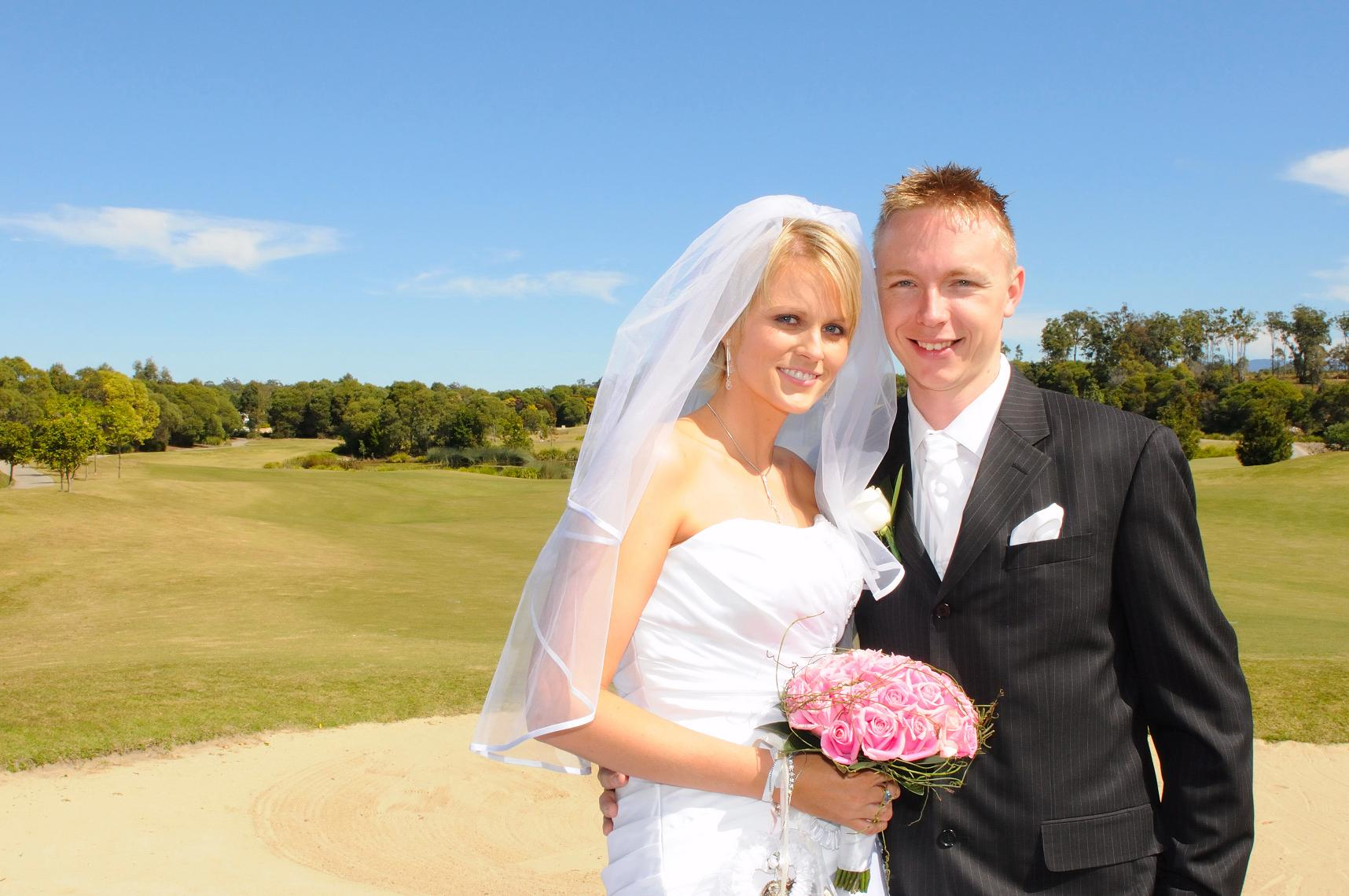 Hi Neal,  Thanks heaps for your effort on the day, although we didn't get to thank you much then, we truly appreciate your work you've done for us.  Once again thank you  Regards  Matt and Aimee  Ceremony held at North Lakes Golf Club
